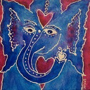 Ganesha's Playful Heart