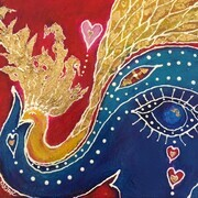 Ganesha & the Golden Bird SOLD