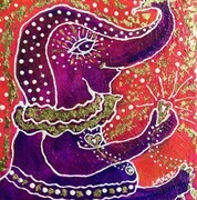 Ganesha & the Golden Heart SOLD