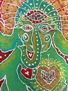 Golden Ganesha SOLD