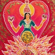 Golden Light of Lakshmi SOLD