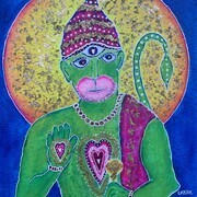 Hanuman- A Beacon of Love & Light SOLD