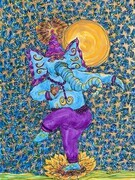 Joyful Ganesha SOLD