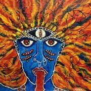 Kali on Fire SOLD