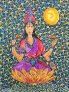 Lakshmi on the Lotus of Truth SOLD