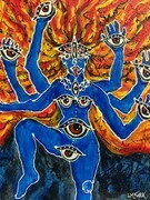 The All Seeing Kali SOLD