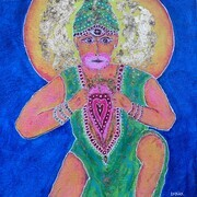 The Sacred Heart of Hanuman