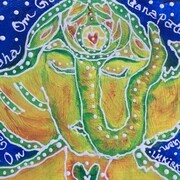 TT #51 Peaceful Ganesha SOLD